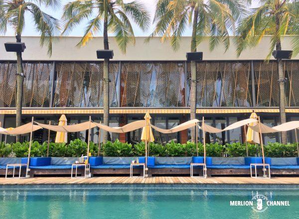 Tanjong Beach Clubのプールサイド