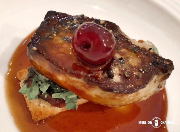 「タラタタ・ブラッセリー(Taratata Brasserie)」のフォアグラ