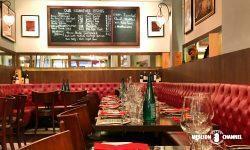 「タラタタ・ブラッセリー(Taratata Brasserie)」の店内