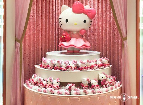 ユニバーサルスタジオ・シンガポール(USS)のお土産ショップ「Hello Kitty Studio」