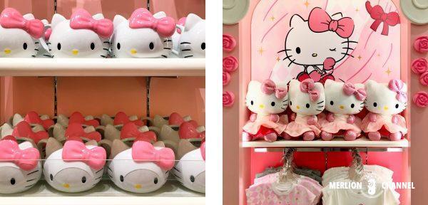 ユニバーサルスタジオ・シンガポール(USS)の「Hello Kitty Studio」のキティ・グッズ