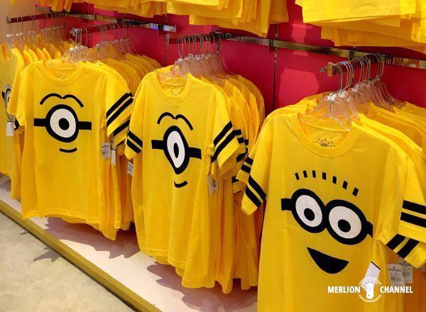 ユニバーサルスタジオ・シンガポール(USS)のミニオンTシャツ