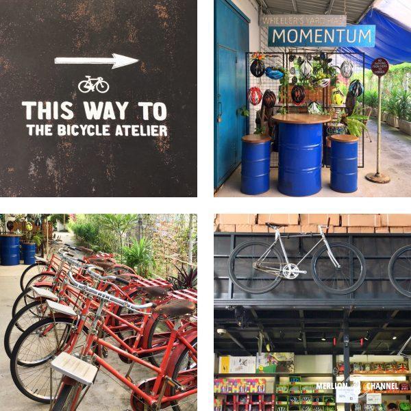 Wheeler's Yardの自転車屋さんのスペース
