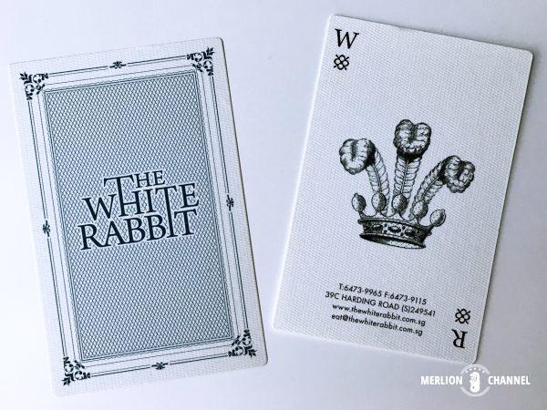 White Rabbitカード