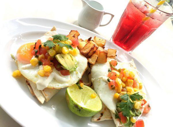 ワイルドハニーのサンタフェ風(Santa Fe)朝食