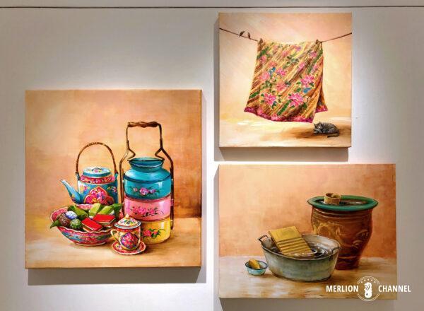 Yip Yew Chongの初個展「Something Somewhere Somewhen」の作品「Amah」