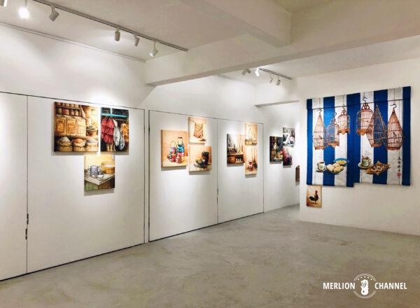 Art Portersで開催されたYip Yew Chongの初個展「Something Somewhere Somewhen」