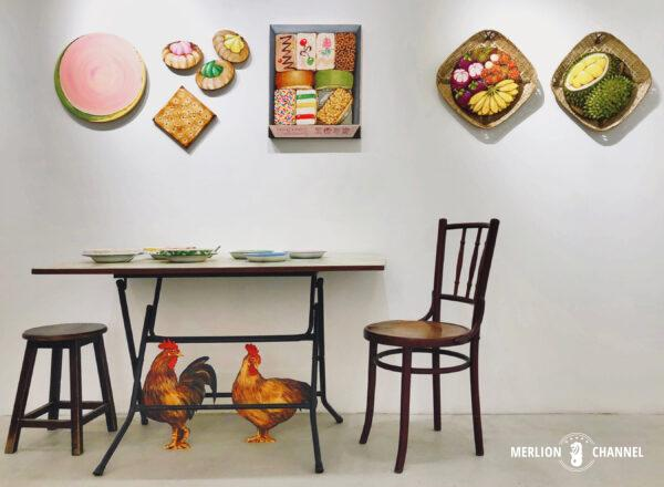 Yip Yew Chongの初個展「Something Somewhere Somewhen」展示品