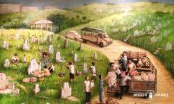 Yip Yew Chongの2回目の個展「Stories from Yesteryear」の作品「Tomb Sweeping」