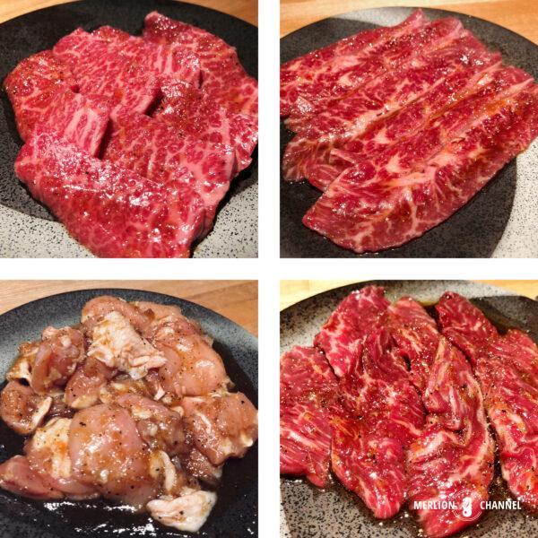 「焼肉・矢澤」の厳選された和牛肉