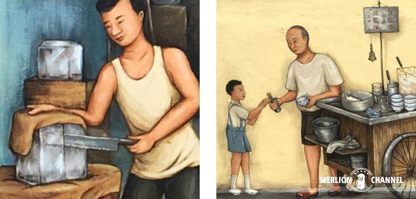 YipYewChong豆乳売りのおじさん
