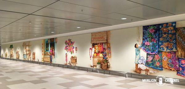 YipYewChongチャンギ空港ターミナル4の地下1階