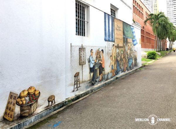YipYewChongチョンバルの路地裏に描かれた壁画アート