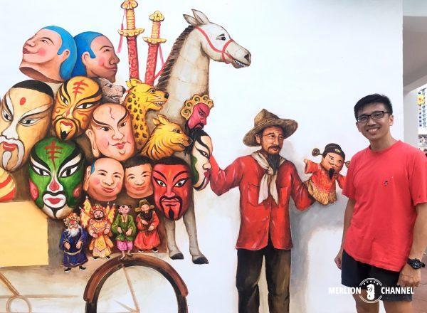 壁画アーティストYip Yew Chong氏