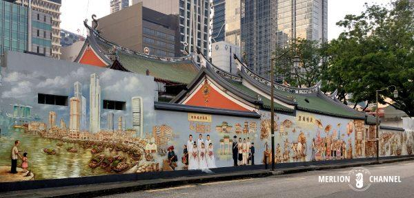 YipYewChong天福宮壁画